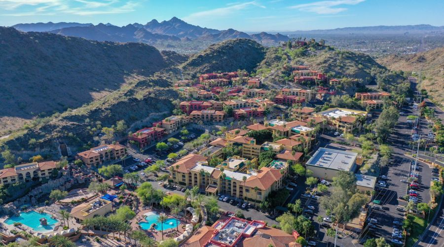 A Bird's-Eye View of the Pointe Hilton Tapatio Cliffs Resort