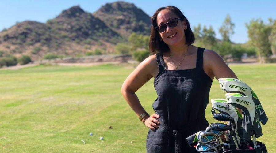 Golfing Valerie
