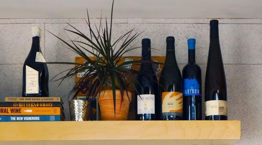 Phoenix Sauvage Wine Wall