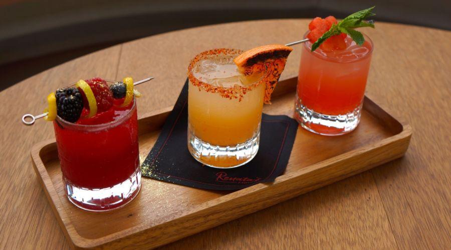 Biltmore Mezcal Drink Flight