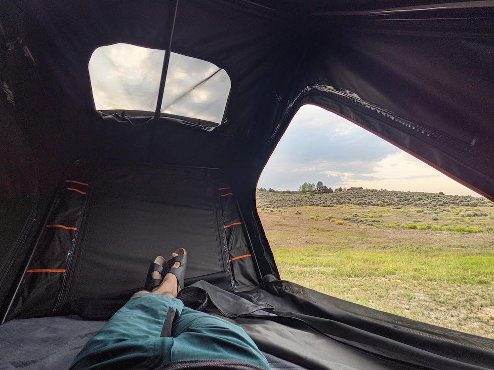 This Car-Camping Pop-up Tent Takes Comfort and Ease to the Next Level